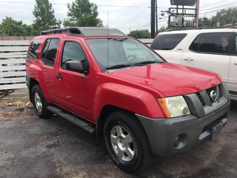 2008 Nissan Xterra for sale at Klein on Vine in Cincinnati OH