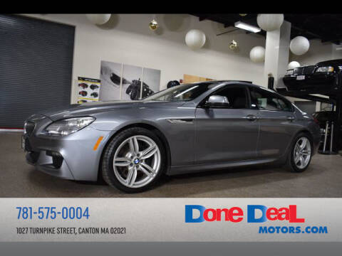 2015 BMW 6 Series for sale at DONE DEAL MOTORS in Canton MA