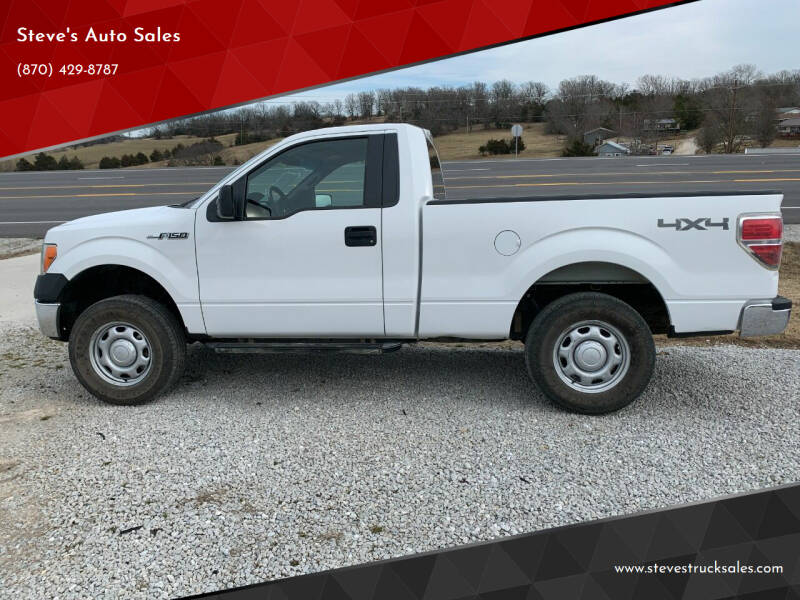 2010 Ford F-150 for sale at Steve's Auto Sales in Harrison AR