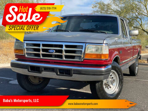 1996 Ford F-250 for sale at Baba's Motorsports, LLC in Phoenix AZ