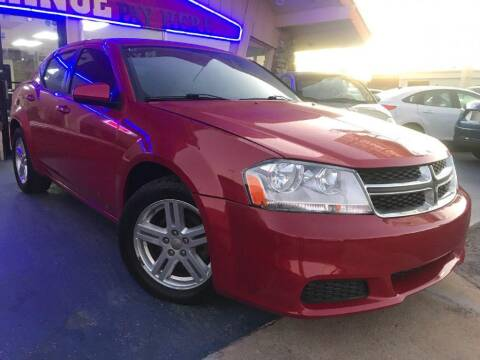 2012 Dodge Avenger for sale at Caspian Auto Sales in Oklahoma City OK