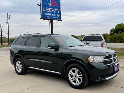 2011 Dodge Durango for sale at Liberty Auto Sales in Merrill IA