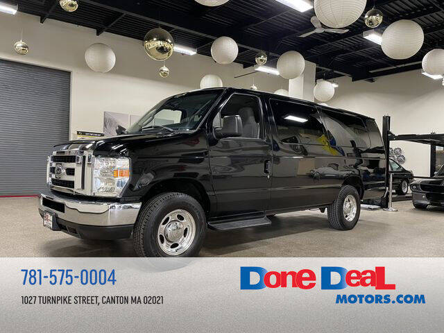 2011 Ford E-Series Wagon for sale at DONE DEAL MOTORS in Canton MA