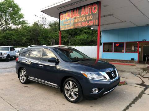 2014 Nissan Pathfinder for sale at Global Auto Sales and Service in Nashville TN