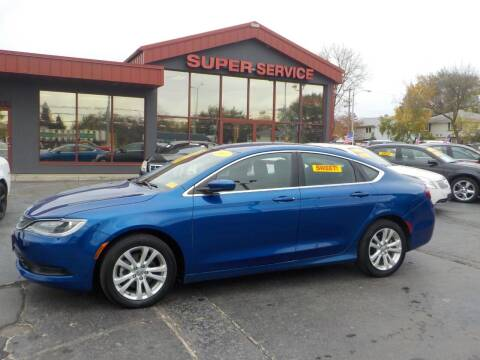 2017 Chrysler 200 for sale at Super Service Used Cars in Milwaukee WI
