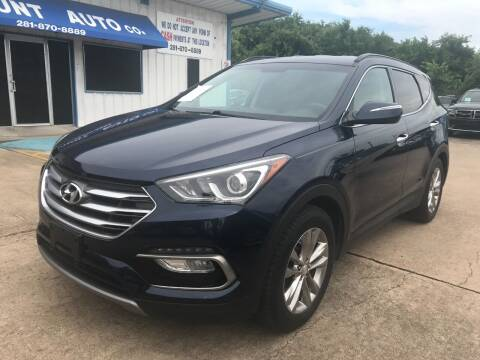 2017 Hyundai Santa Fe Sport for sale at Discount Auto Company in Houston TX