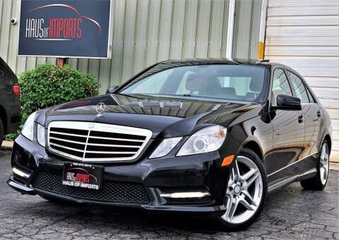 2013 Mercedes-Benz E-Class for sale at Haus of Imports in Lemont IL
