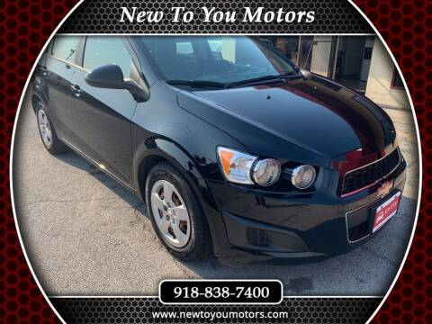 2016 Chevrolet Sonic for sale at New To You Motors in Tulsa OK