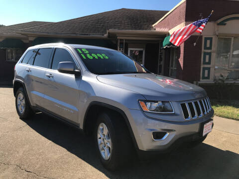 2015 Jeep Grand Cherokee for sale at Firestation Auto Center in Tyler TX