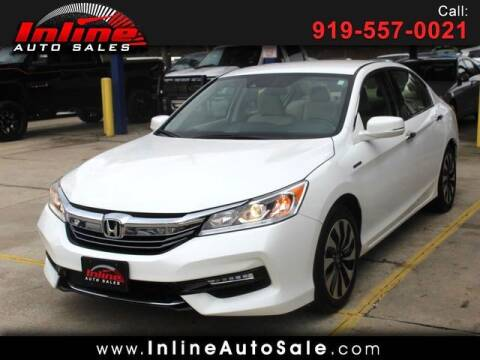 2017 Honda Accord Hybrid for sale at Inline Auto Sales in Fuquay Varina NC