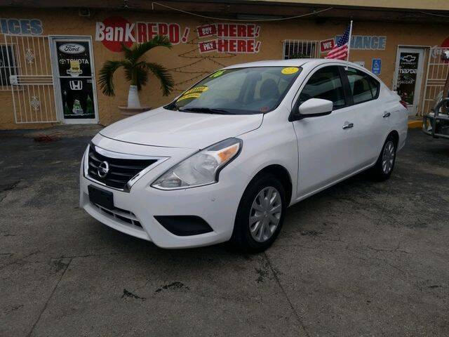 2016 Nissan Versa for sale at VALDO AUTO SALES in Miami FL