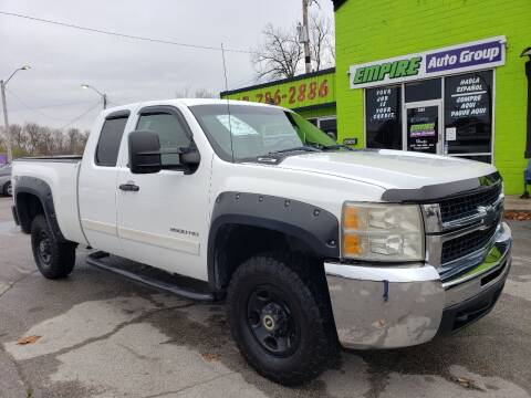 2007 Chevrolet Silverado 2500HD for sale at Empire Auto Group in Indianapolis IN