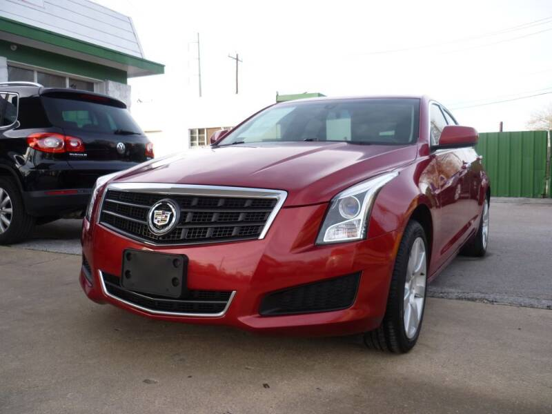 2013 Cadillac ATS for sale at Auto Outlet Inc. in Houston TX