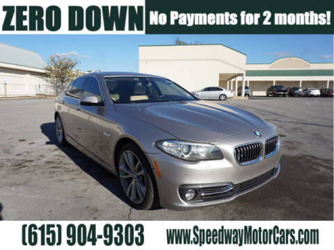2014 BMW 5 Series for sale at Speedway Motors in Murfreesboro TN