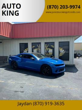 2014 Chevrolet Camaro for sale at AUTO KING in Jonesboro AR