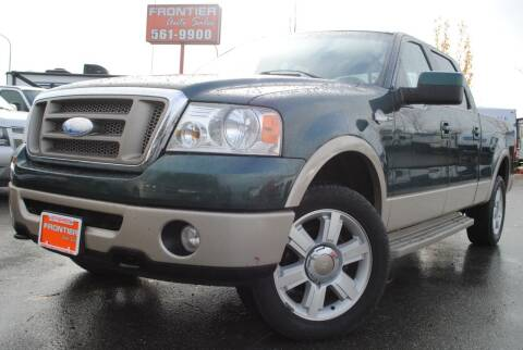 2008 Ford F-150 for sale at Frontier Auto & RV Sales in Anchorage AK
