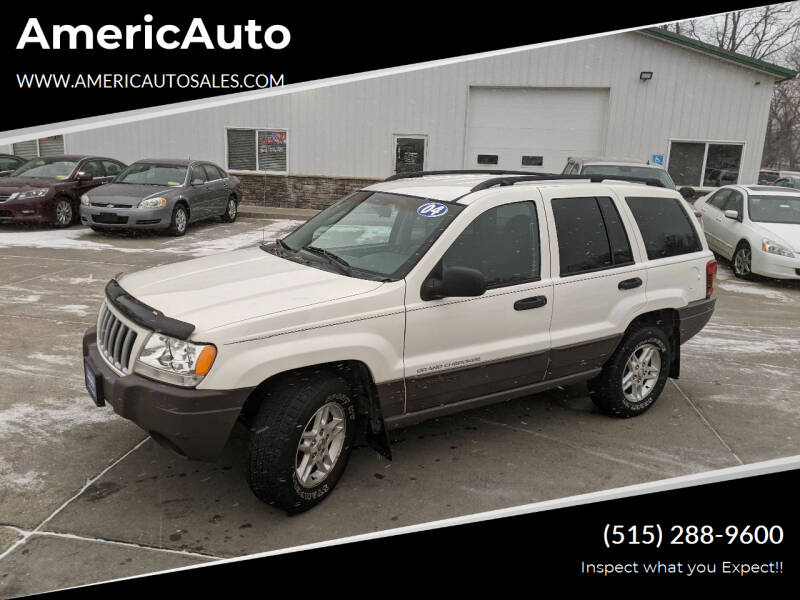 2004 Jeep Grand Cherokee for sale at AmericAuto in Des Moines IA
