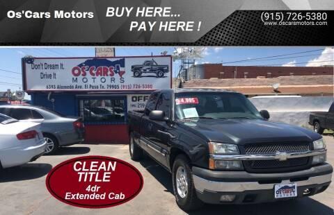 2004 Chevrolet Silverado 1500 for sale at Os'Cars Motors in El Paso TX