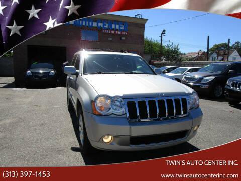 2010 Jeep Grand Cherokee for sale at Twin's Auto Center Inc. in Detroit MI