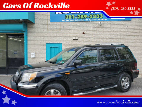 2008 Honda Pilot for sale at Cars Of Rockville in Rockville MD