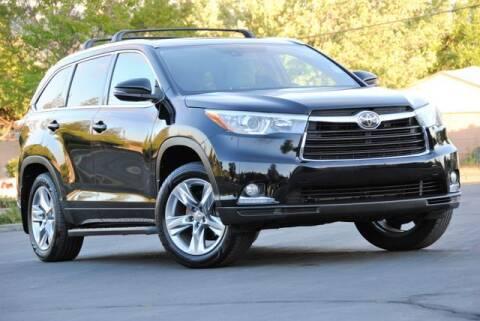 2015 Toyota Highlander for sale at VSTAR in Walnut Creek CA
