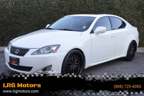 2008 Lexus IS 250 for sale at LRG Motors in Montclair CA