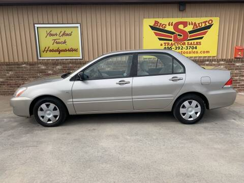 2004 Mitsubishi Lancer for sale at BIG 'S' AUTO & TRACTOR SALES in Blanchard OK