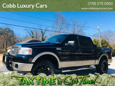2006 Ford F-150 for sale at Cobb Luxury Cars in Marietta GA