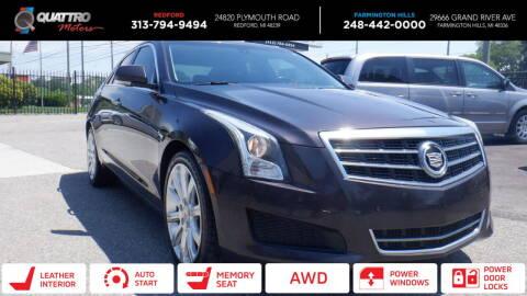 2014 Cadillac ATS for sale at Quattro Motors 2 in Farmington Hills MI