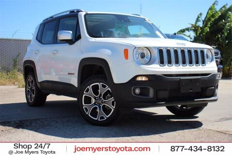 2018 Jeep Renegade for sale at Joe Myers Toyota PreOwned in Houston TX