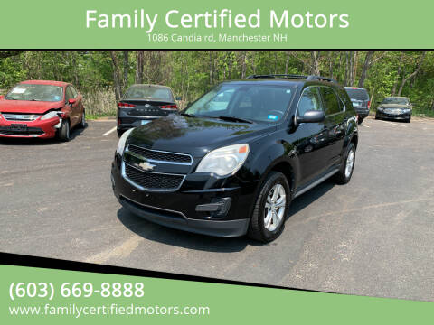 2011 Chevrolet Equinox for sale at Family Certified Motors in Manchester NH