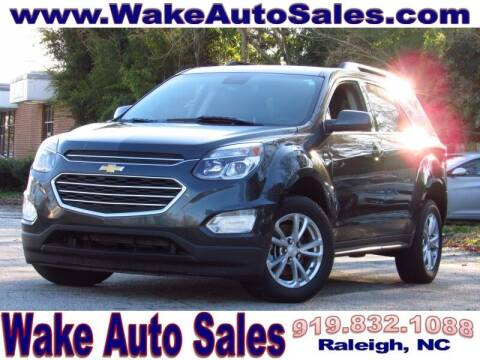 2017 Chevrolet Equinox for sale at Wake Auto Sales Inc in Raleigh NC
