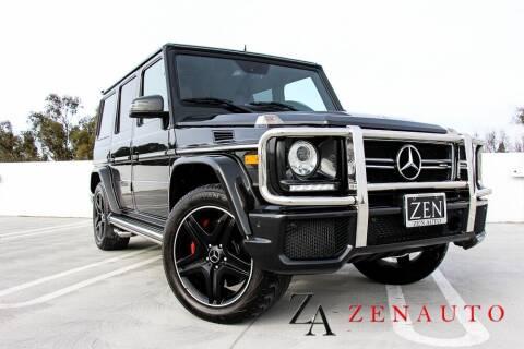 2016 Mercedes-Benz G-Class for sale at Zen Auto Sales in Sacramento CA