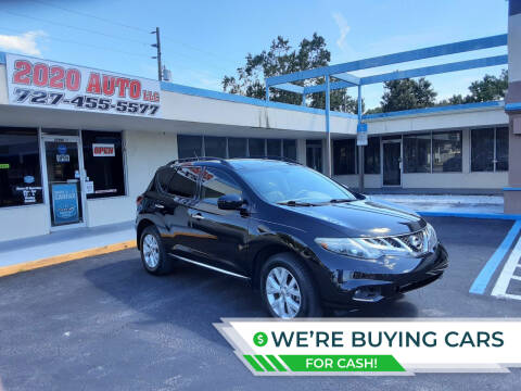 2014 Nissan Murano for sale at 2020 AUTO LLC in Clearwater FL