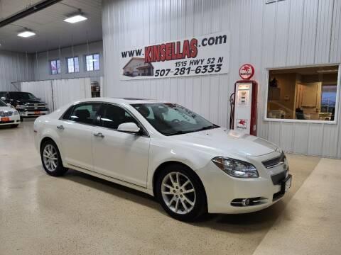 2010 Chevrolet Malibu for sale at Kinsellas Auto Sales in Rochester MN