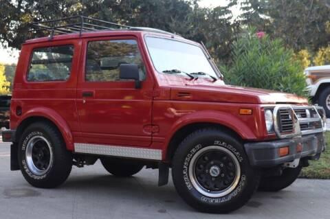 1988 Suzuki Samurai for sale at SELECT JEEPS INC in League City TX