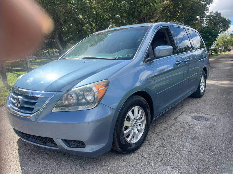 2008 Honda Odyssey for sale at LESS PRICE AUTO BROKER in Hollywood FL