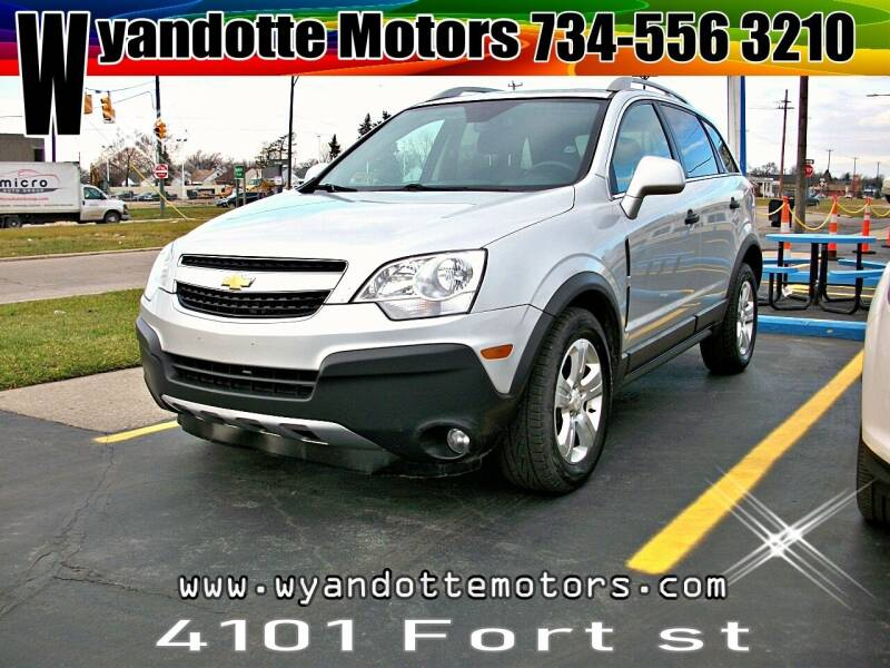 2013 Chevrolet Captiva Sport for sale at Wyandotte Motors in Wyandotte MI