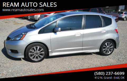 2012 Honda Fit for sale at REAM AUTO SALES in Enid OK