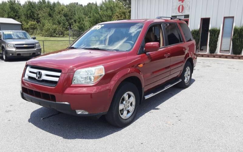 2006 Honda Pilot for sale at Mathews Used Cars, Inc. in Crawford GA