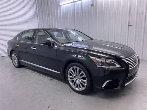 2016 Lexus LS 460 for sale at JOE BULLARD USED CARS in Mobile AL