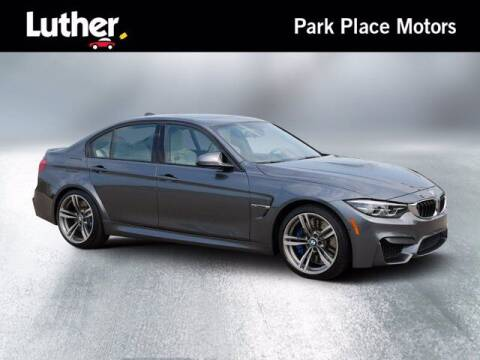 2018 BMW M3 for sale at Park Place Motor Cars in Rochester MN