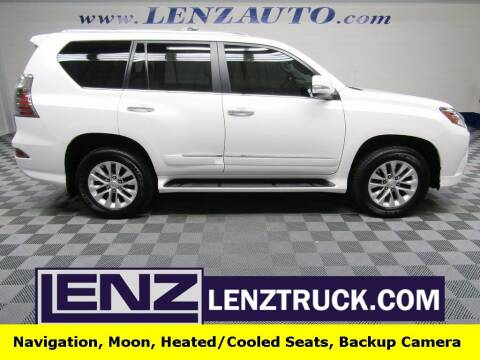 2018 Lexus GX 460 for sale at LENZ TRUCK CENTER in Fond Du Lac WI