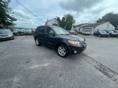 2010 Hyundai Santa Fe for sale at LAUER BROTHERS AUTO SALES in Dover PA