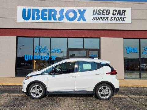 2017 Chevrolet Bolt EV for sale at Ubersox Used Car Superstore in Monroe WI