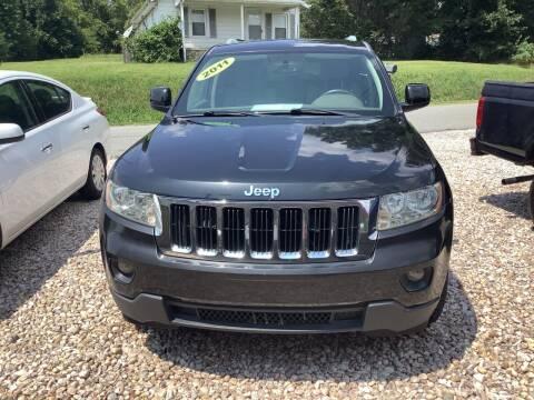 2011 Jeep Grand Cherokee for sale at Moose Motors in Morganton NC