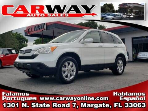 2007 Honda CR-V for sale at CARWAY Auto Sales in Margate FL
