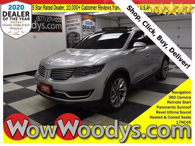 2017 Lincoln MKX for sale at WOODY'S AUTOMOTIVE GROUP in Chillicothe MO