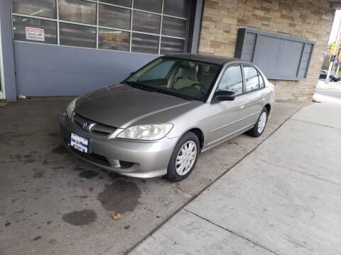 2005 Honda Civic for sale at Car Planet Inc. in Milwaukee WI