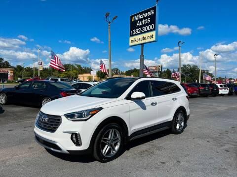 2017 Hyundai Santa Fe for sale at Michaels Autos in Orlando FL